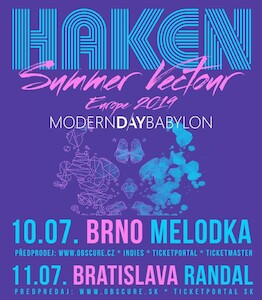HAKEN, MODERN DAY BABYLON