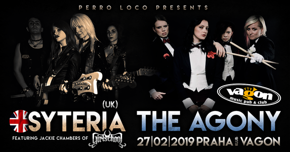 Koncert The Agony (CZ) a Syteria (UK)